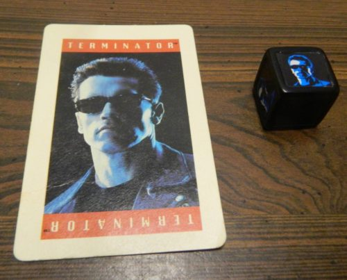 Terminator Card in Terminator 2: Judgment Day