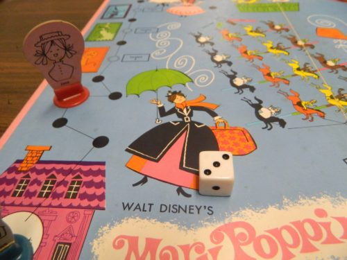 Movement in Mary Poppins Carousel Game