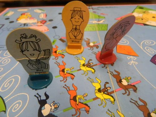 Multiple Paths in Mary Poppins Carousel Game
