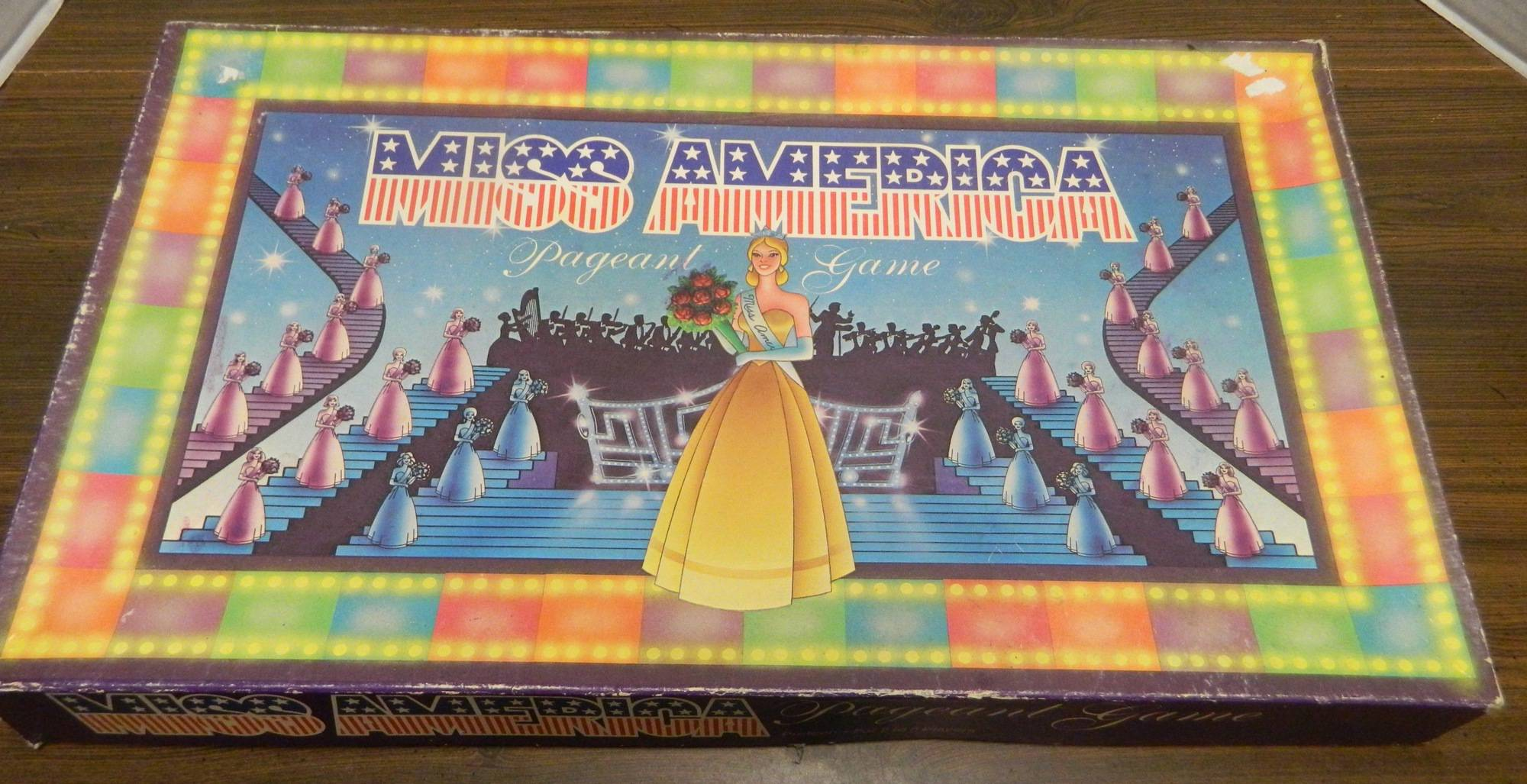 Box for Miss America Pageant Game