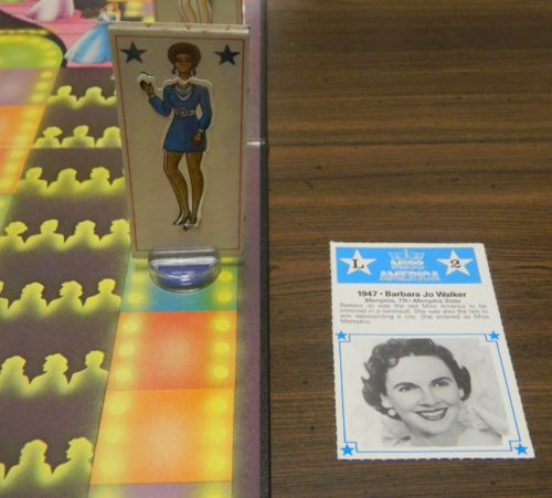 Draw Card in Miss America Pageant Game