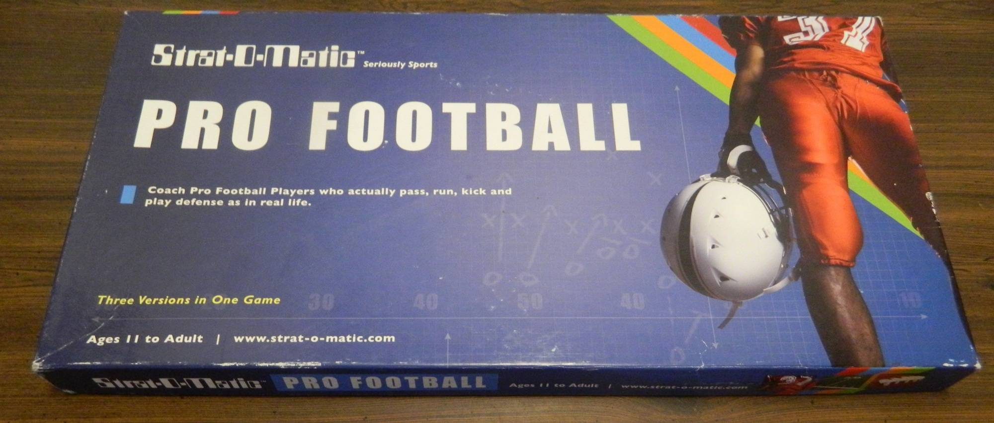 Box for Strat-O-Matic Pro Football