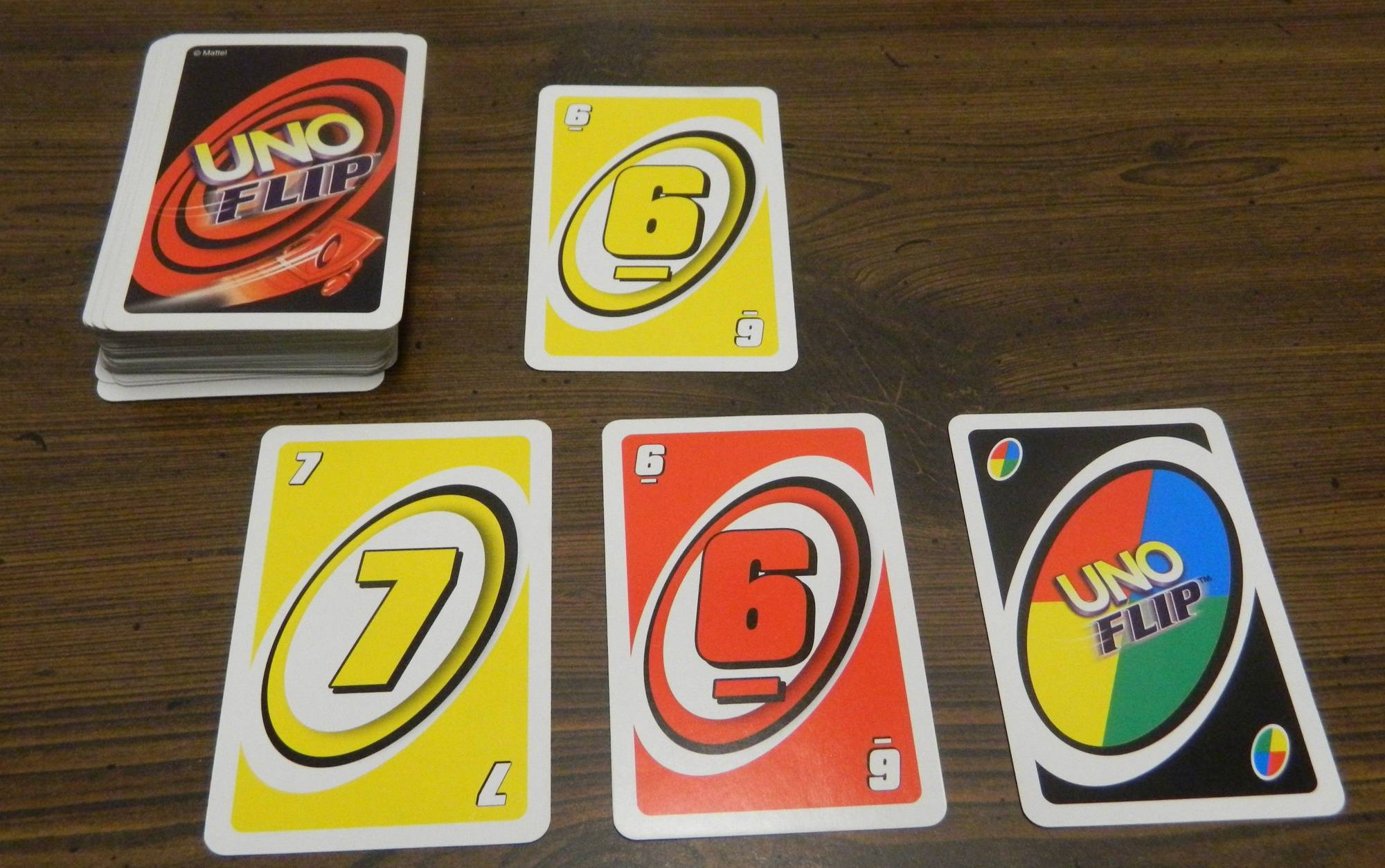 UNO Flip Card Game Review and Rules | Geeky Hobbies
