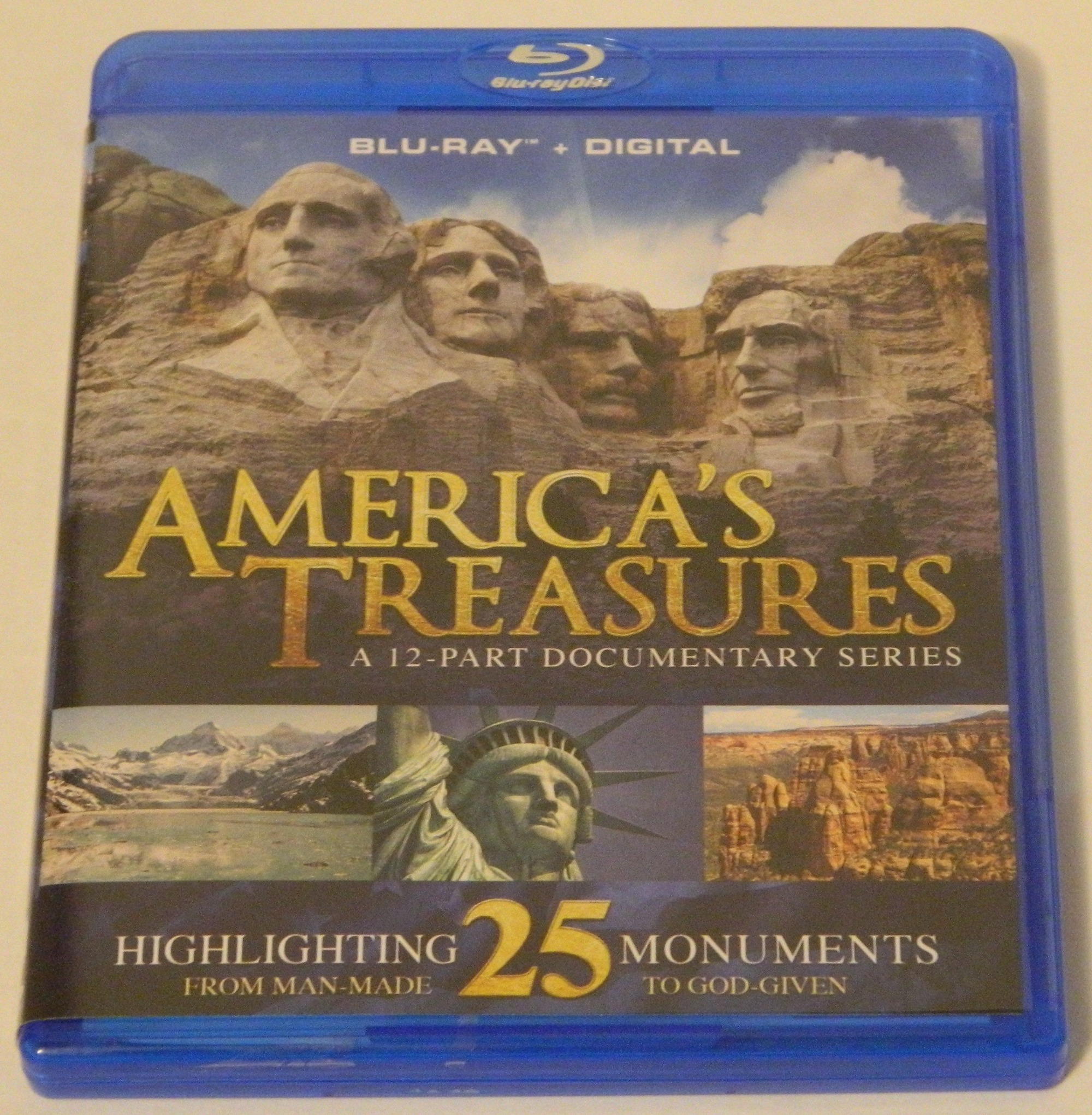 America's Treasures Blu-ray