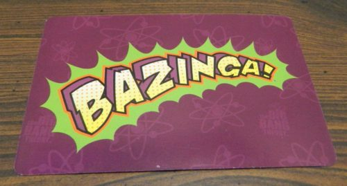Bazinga Card in The Big Bang Theory The Party Game