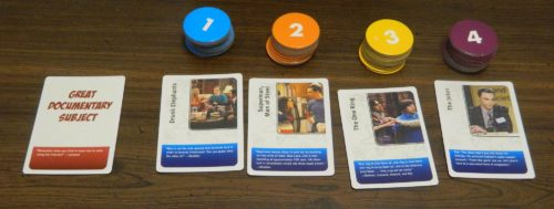 Scoring in The Big Bang Theory The Party Game