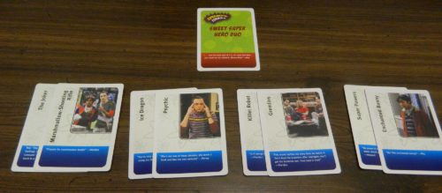 Two Card Response in The Big Bang Theory The Party Game