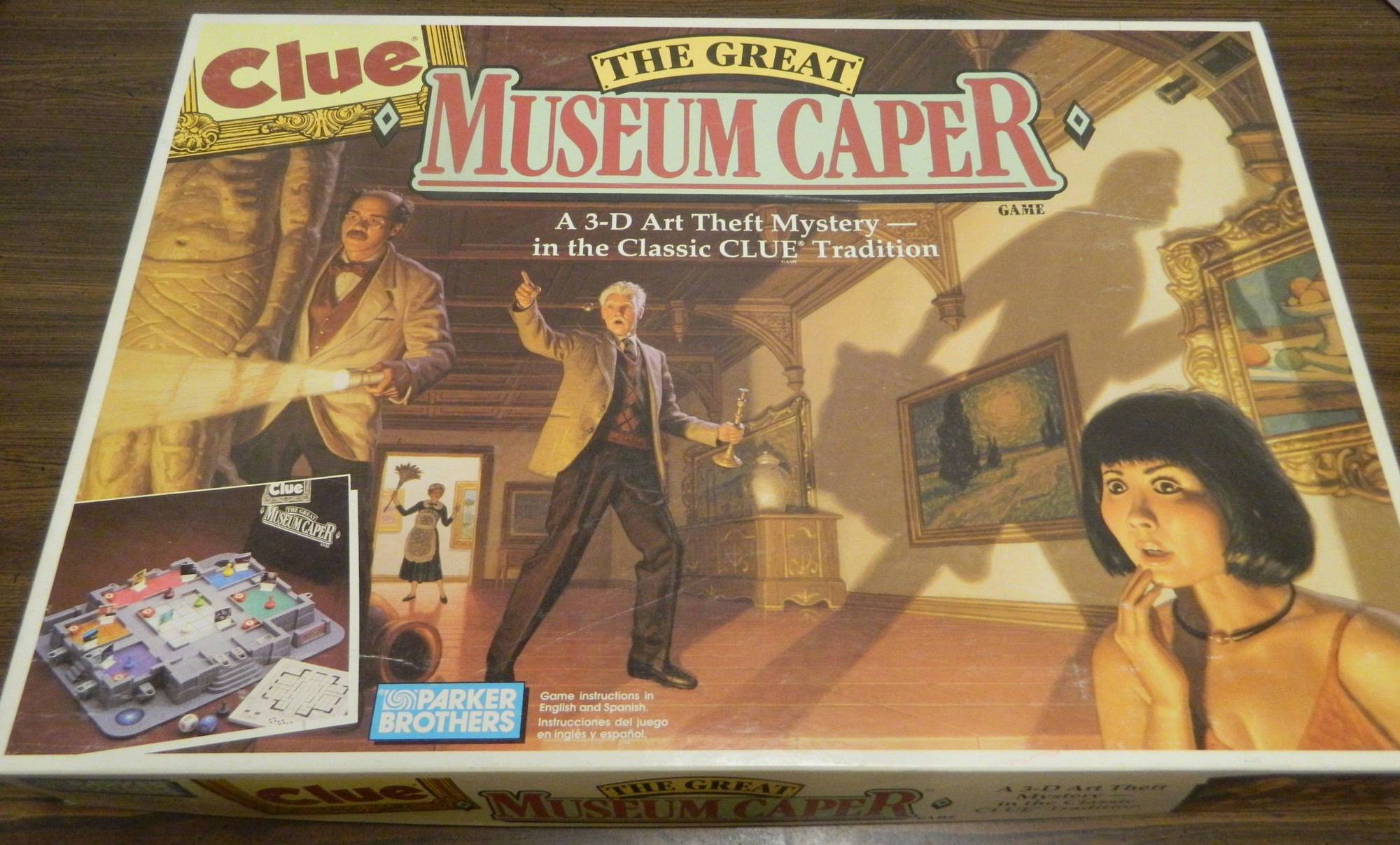 Box for Clue The Great Museum Caper