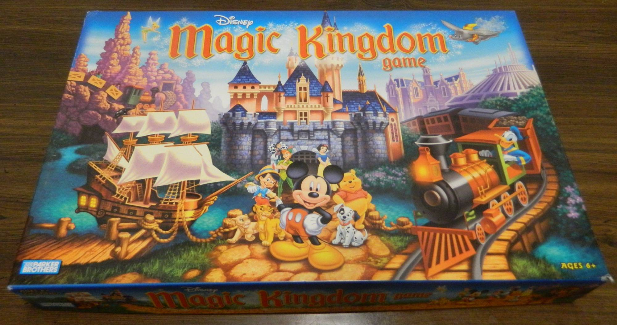 Box for Magic Kingdom Game