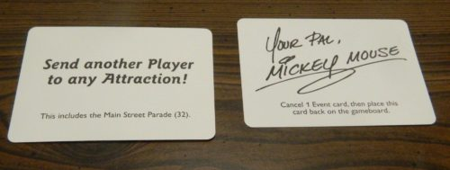 Use Autograph Card in Magic Kingdom Game