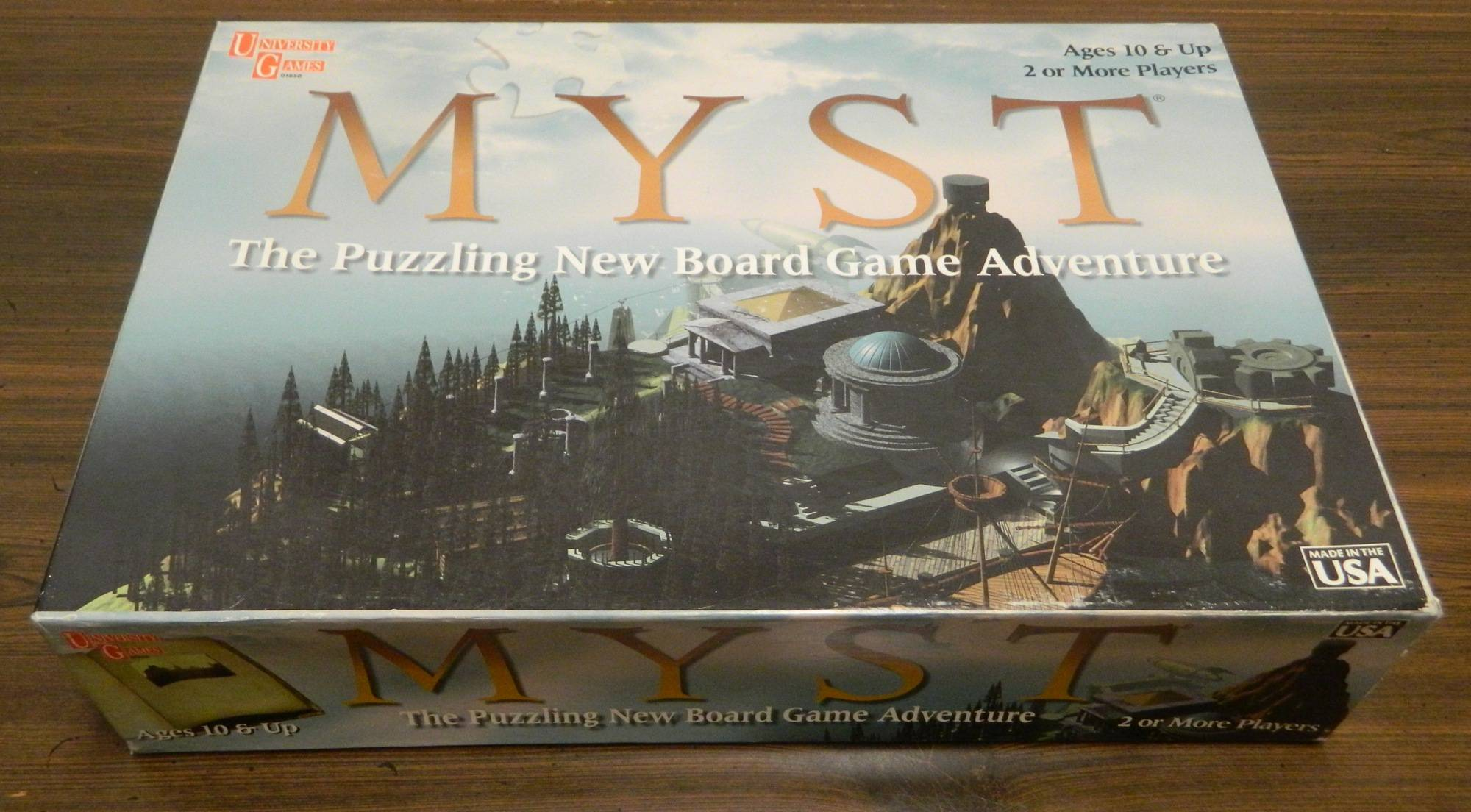 Box for Myst Board Game