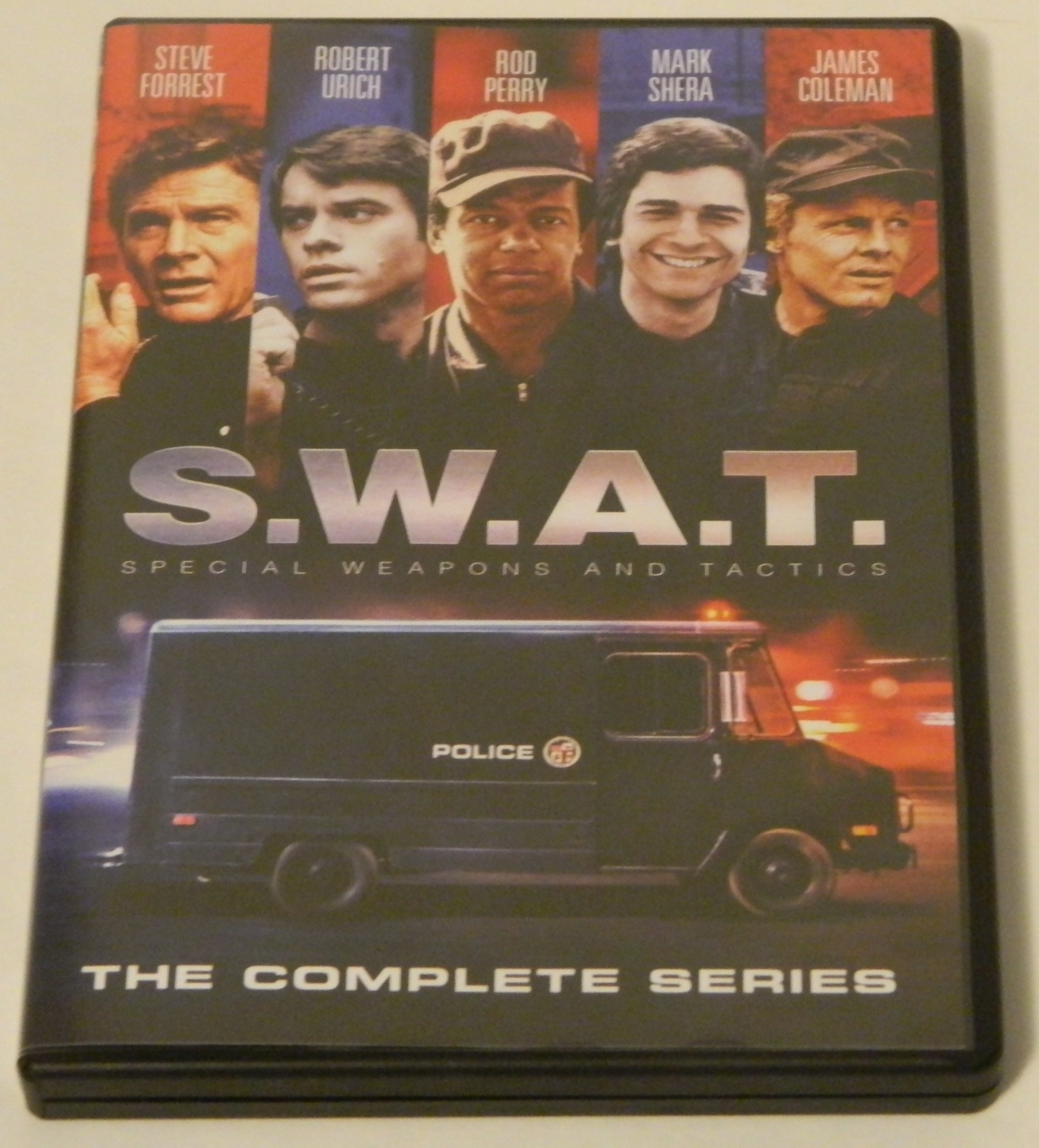 SWAT Complete Series DVD