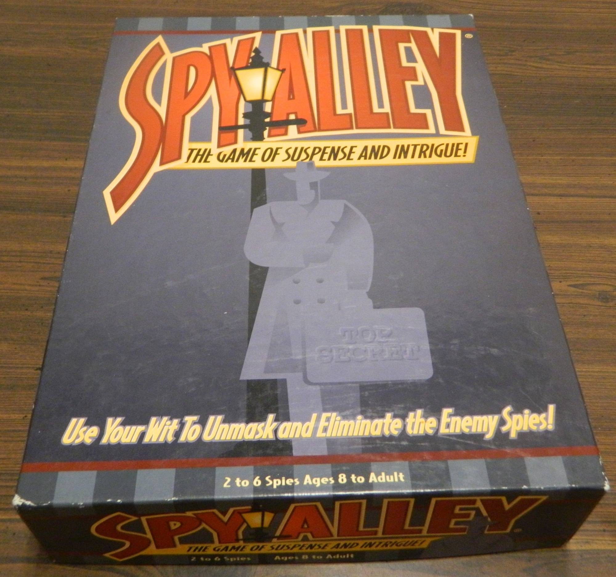 Box for Spy Alley