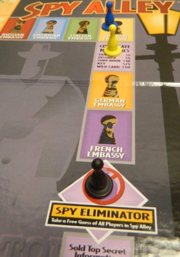 Spy Eliminator Space in Spy Alley