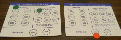 Correct Defensive Call in Strat-O-Matic Pro Football