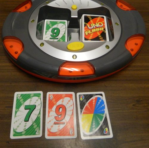 Playing A Card in UNO Flash
