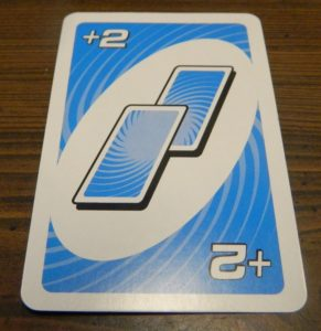 Draw Two Card in UNO Spin
