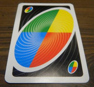 Wild Card in UNO Spin