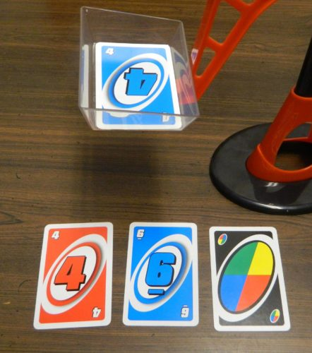 Playing Cards in UNO Tippo