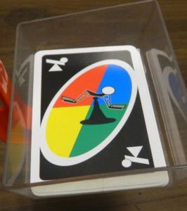 Tilt Card in UNO Tippo