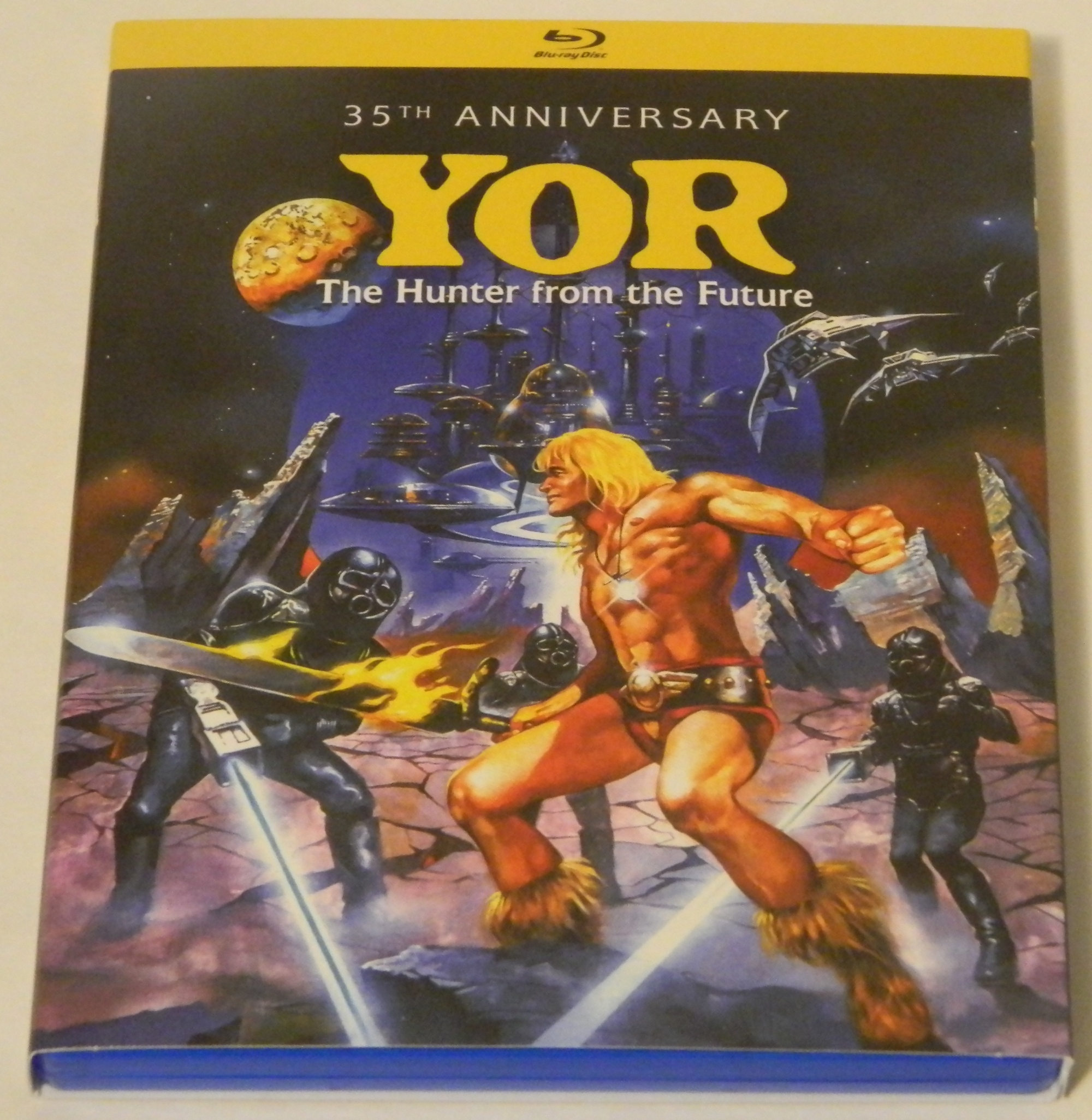 Yor, the Hunter From the Future Blu-ray