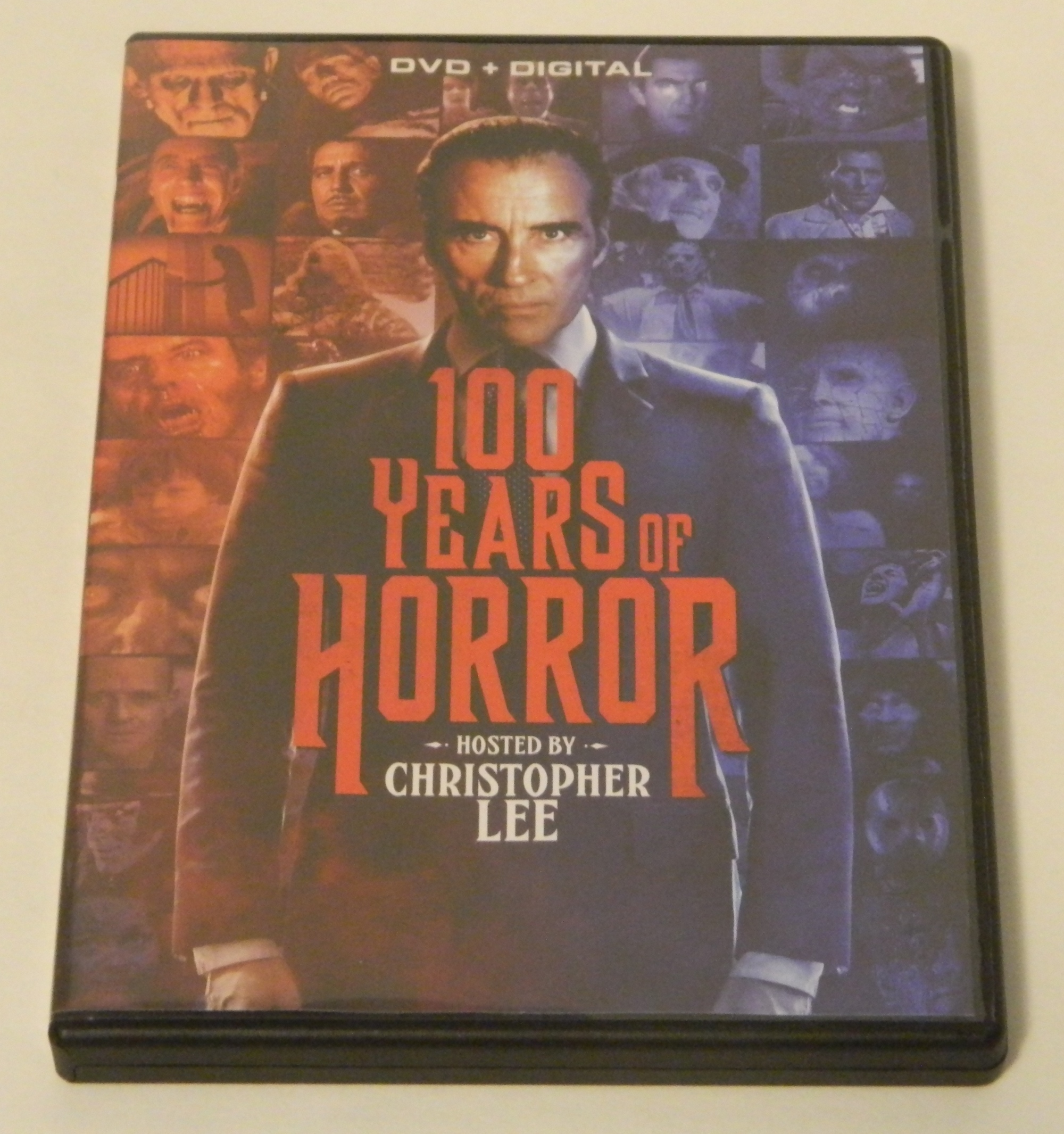 100 Years of Horror DVD