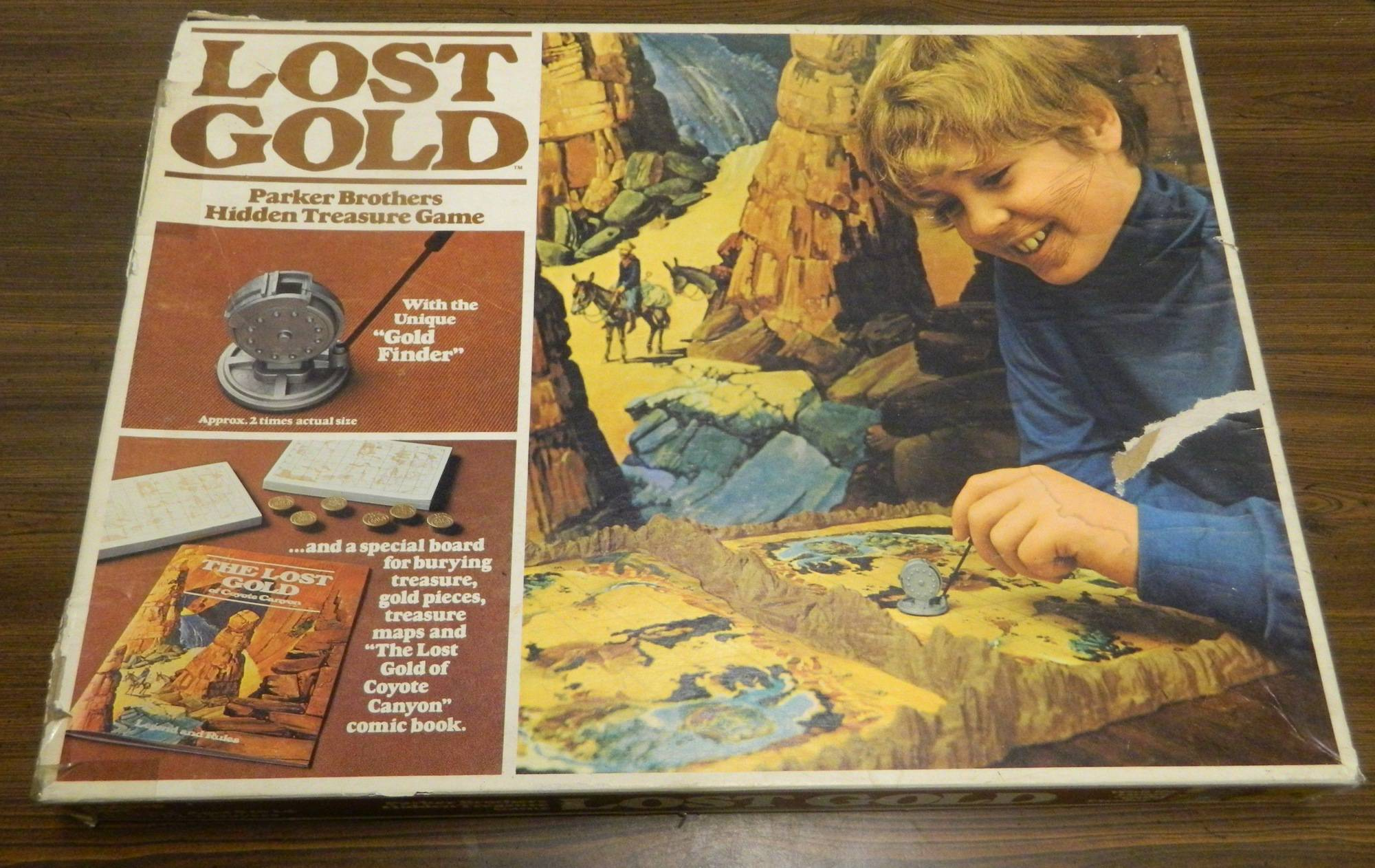 Box for Lost Gold