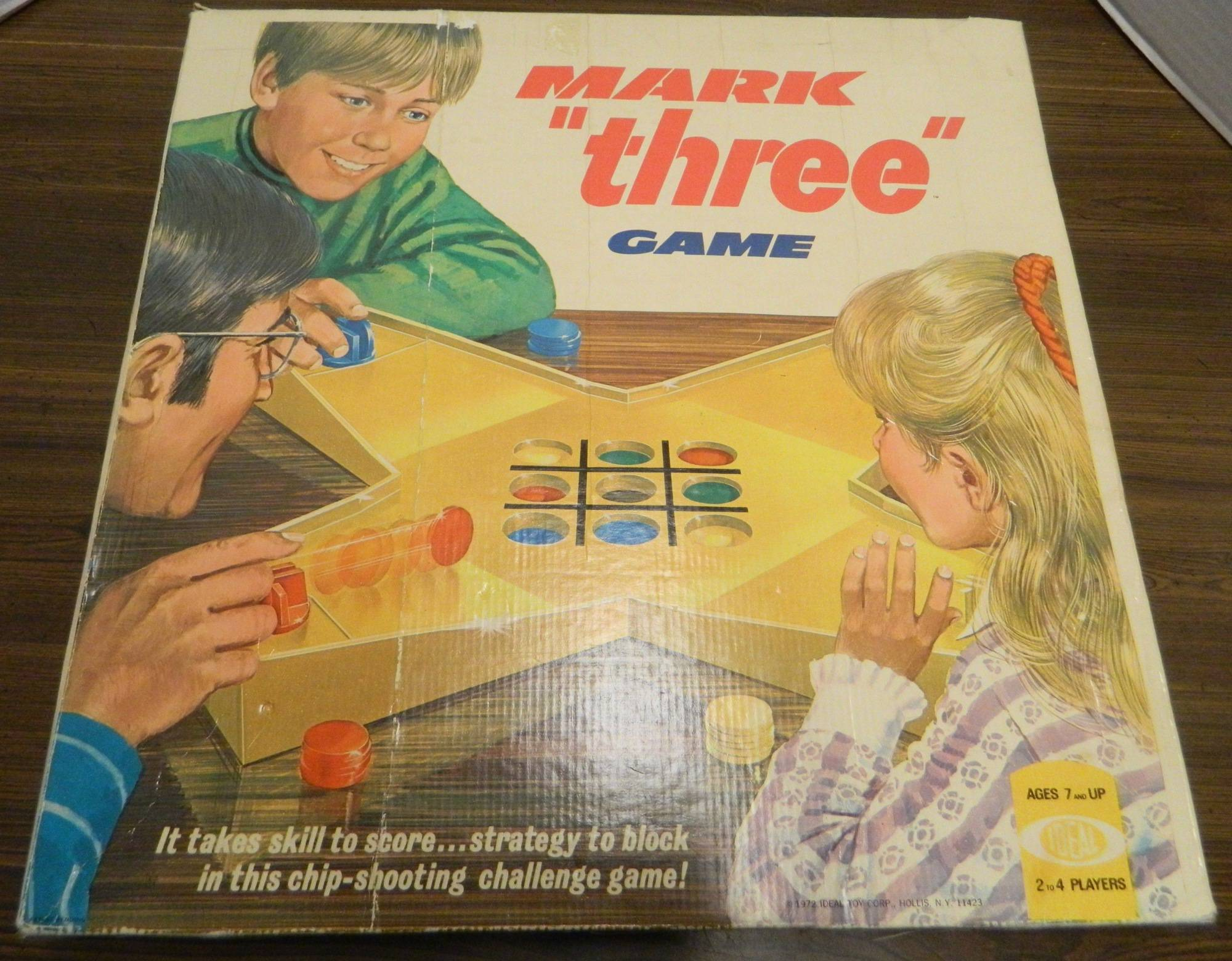 Box for Mark Three Game