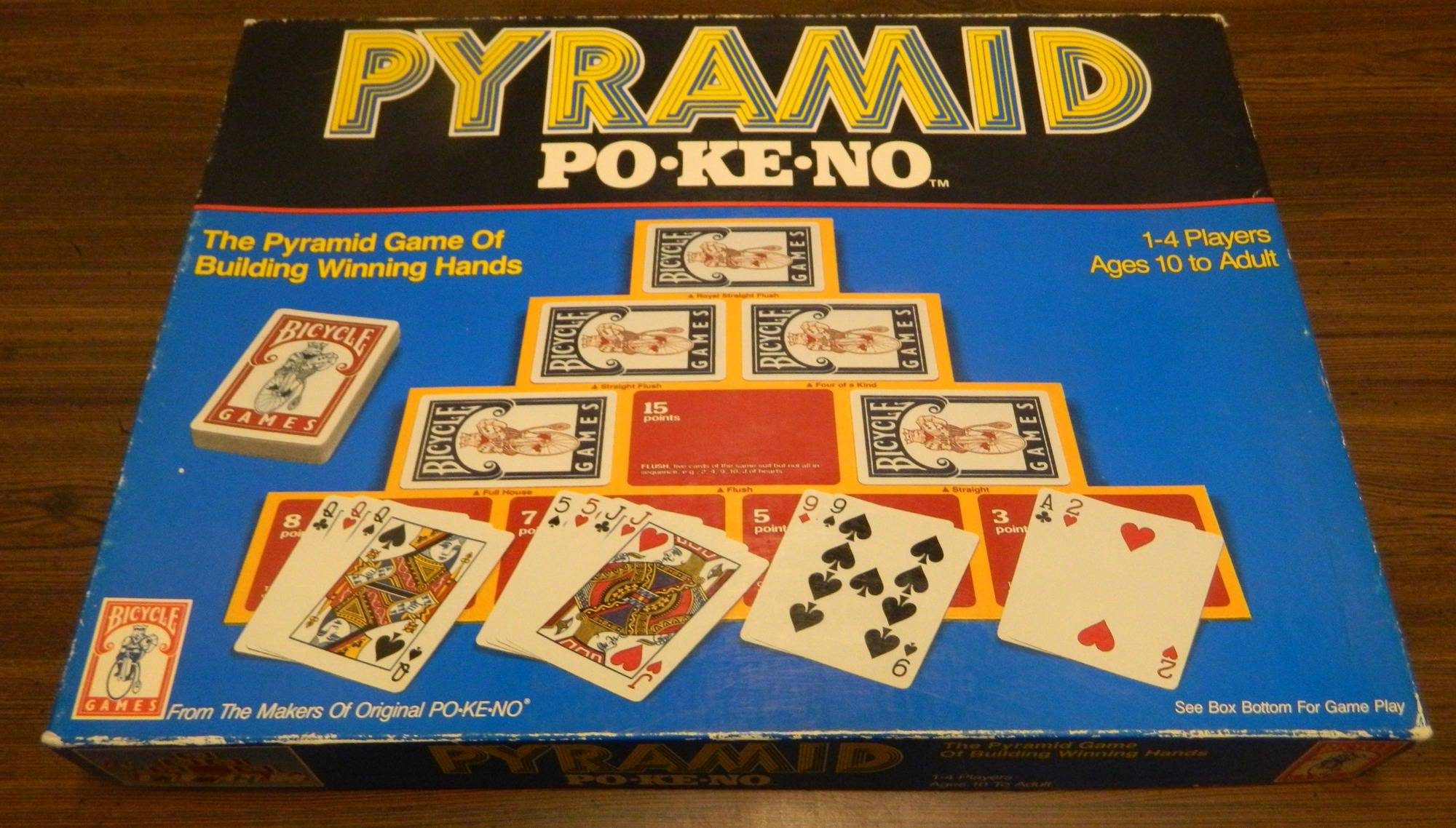 Box for Pyramid Pokeno
