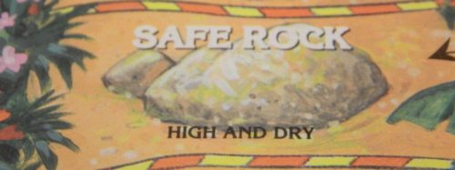 Safe Rock Space in Quicksand