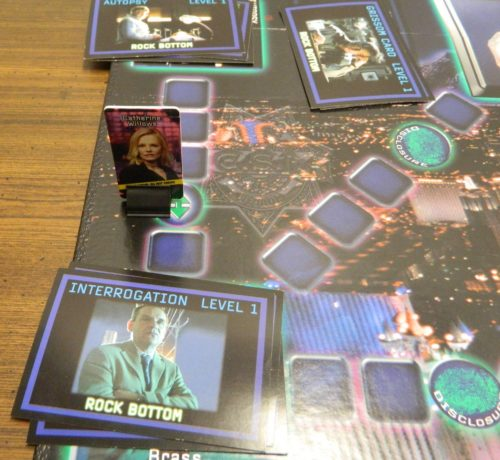 Arrow Space in CSI Board Game