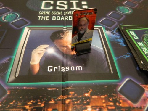 Grissom Space in the CSI Board Game