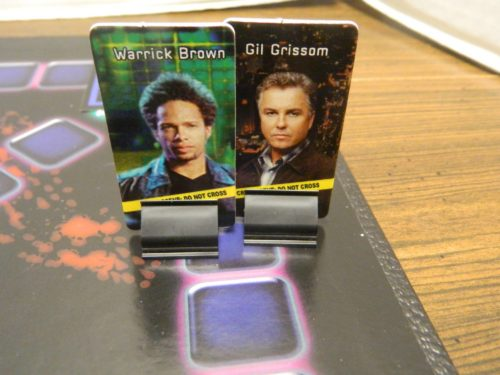 Same Space in CSI Board Game