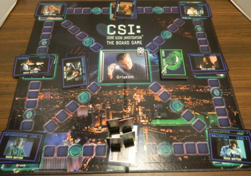 Setup for the CSI Board Game
