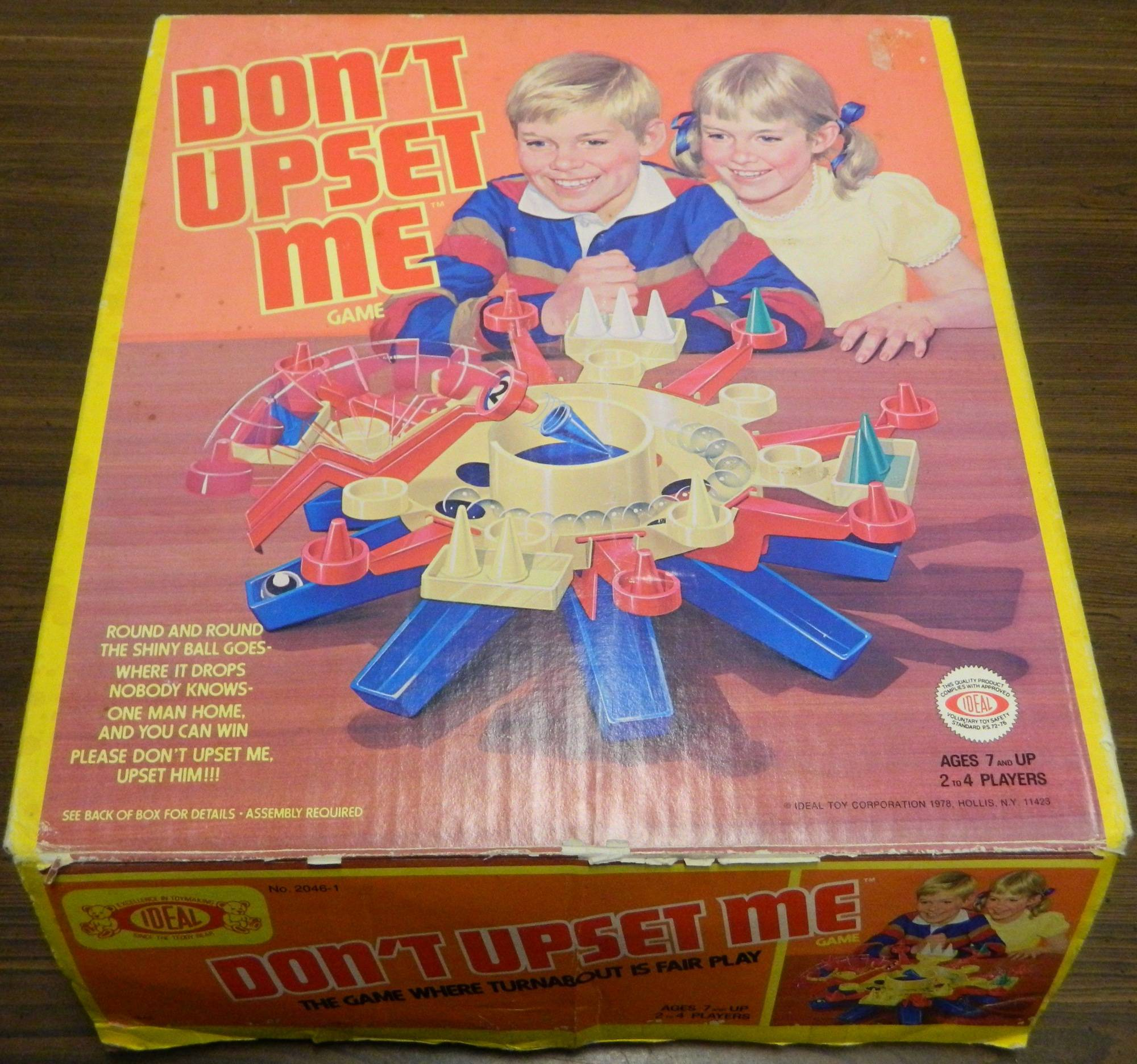 Box for Don't Upset Me