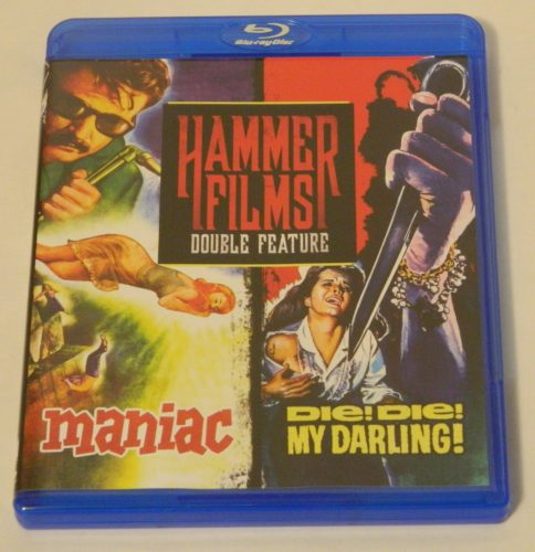 Hammer Films Double Feature Maniac Blu-ray