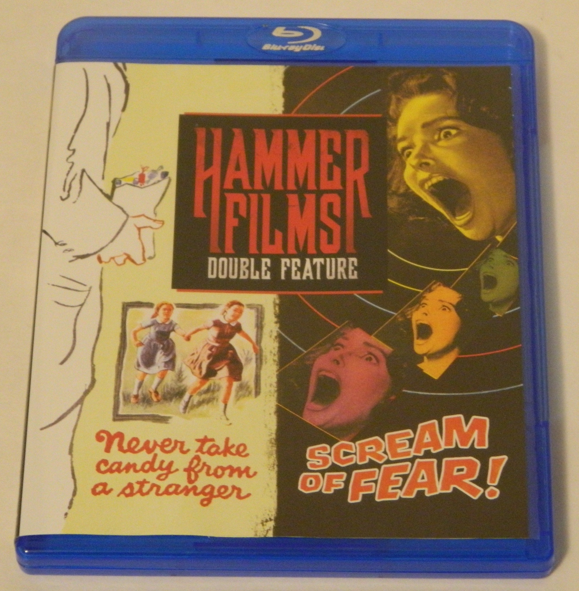 Hammer Films Double Feature Never Take Candy From a Stranger Blu-ray