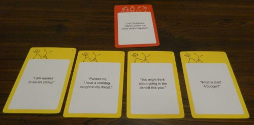 Card Submissions in Relative Insanity