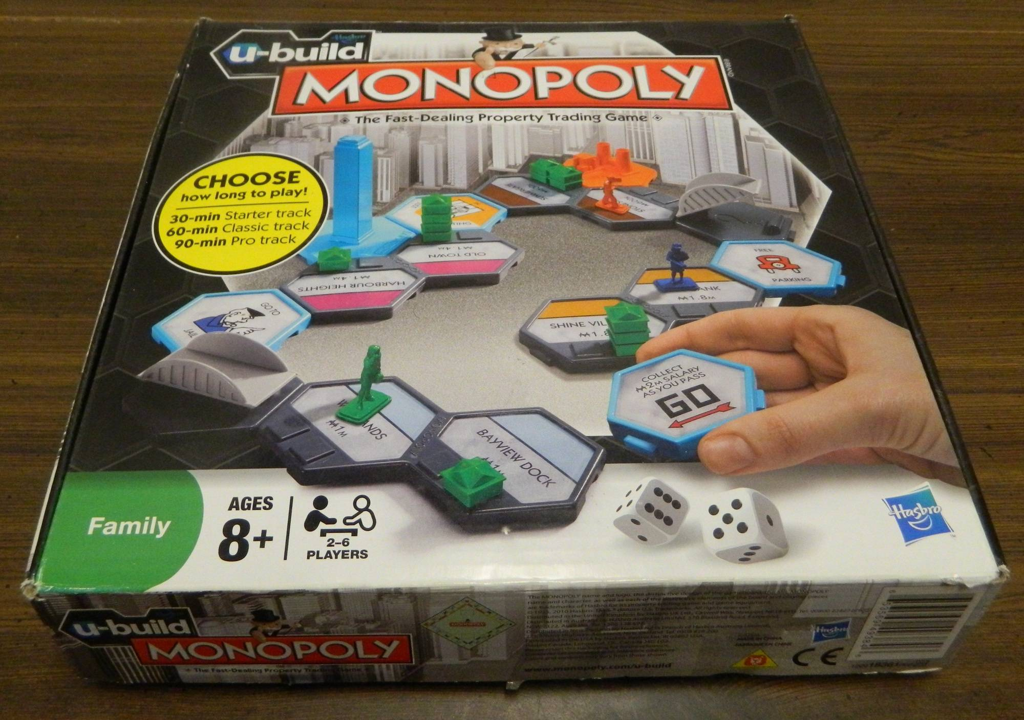 Box for U-Build Monopoly