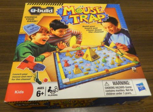 Box for U-Build Mouse Trap