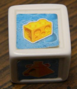 Cheese Block Die in U-Build Mouse Trap