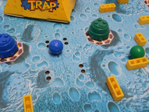 Knock Off Marble in U-Build Mouse Trap