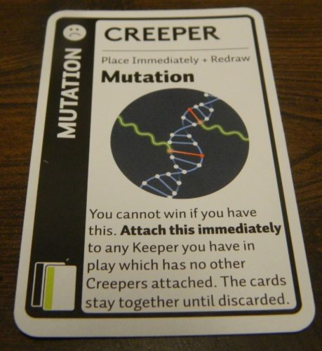Creeper Card in Anatomy Fluxx