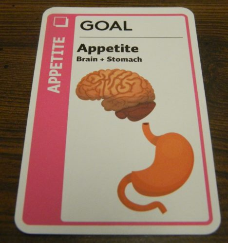 Goal Card in Anatomy Fluxx