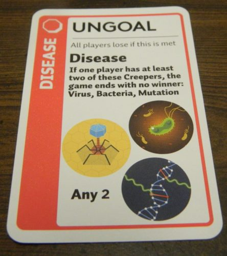 Ungoal Card in Anatomy Fluxx