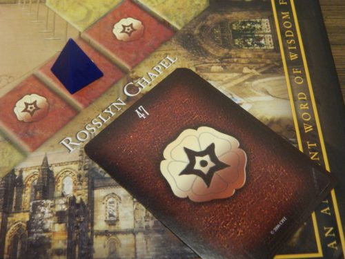 Landmark Space in The Da Vinci Code Board Game