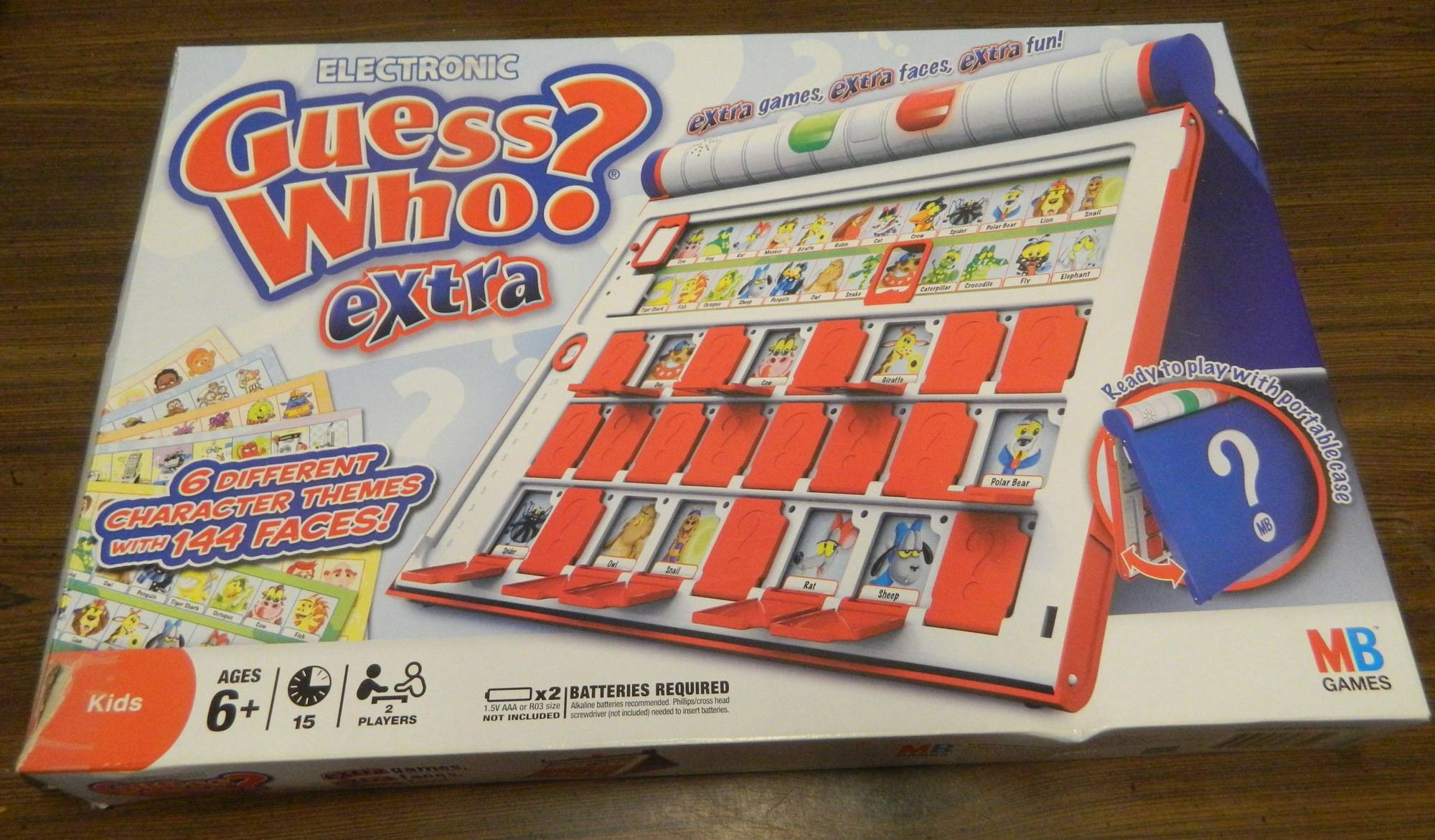 Box for Electronic Guess Who? Extra