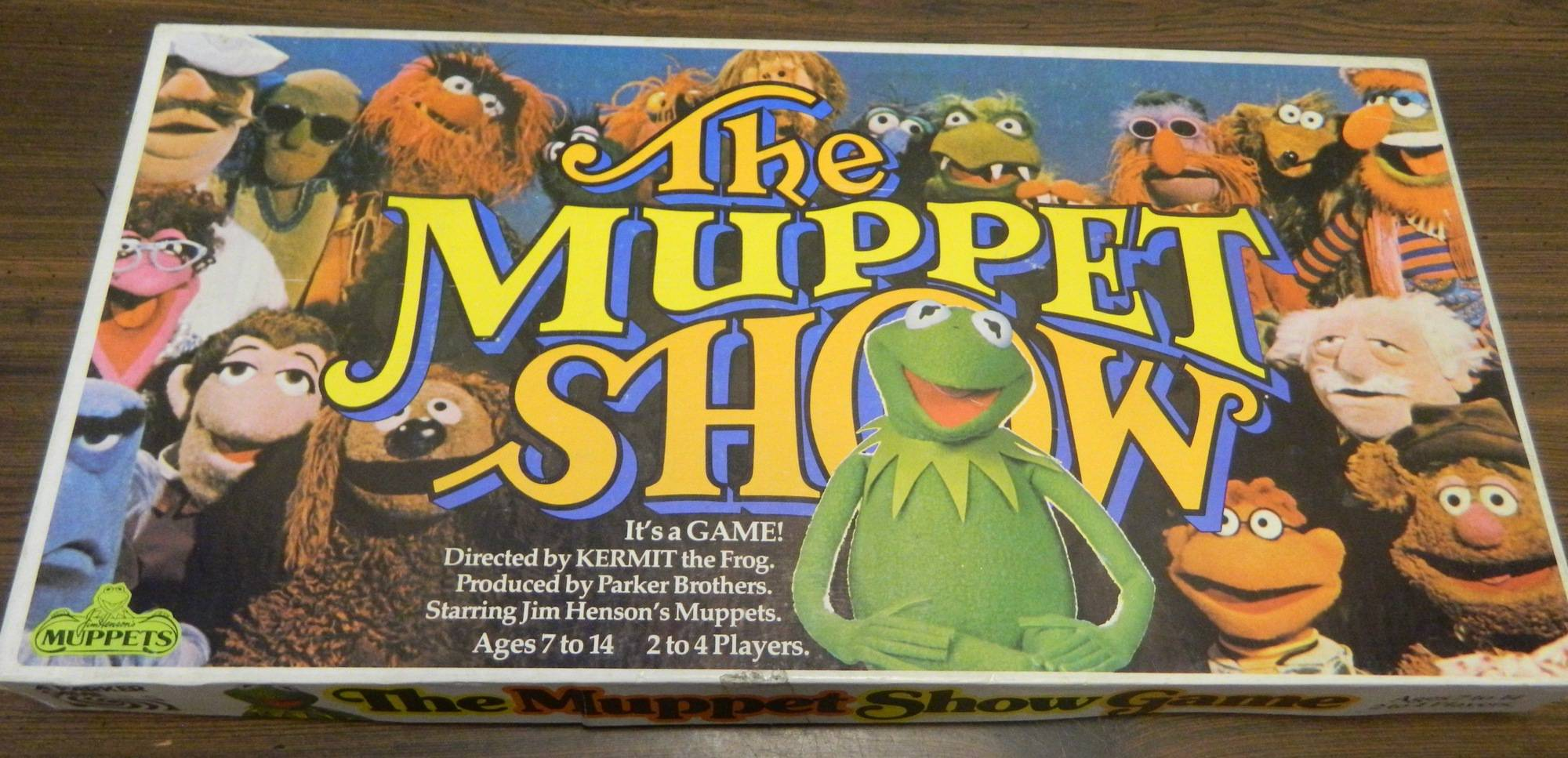The Muppet Show Game (1977) Board Game Review and Rules