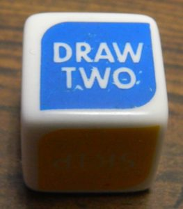 Draw Two Symbol UNO Dice