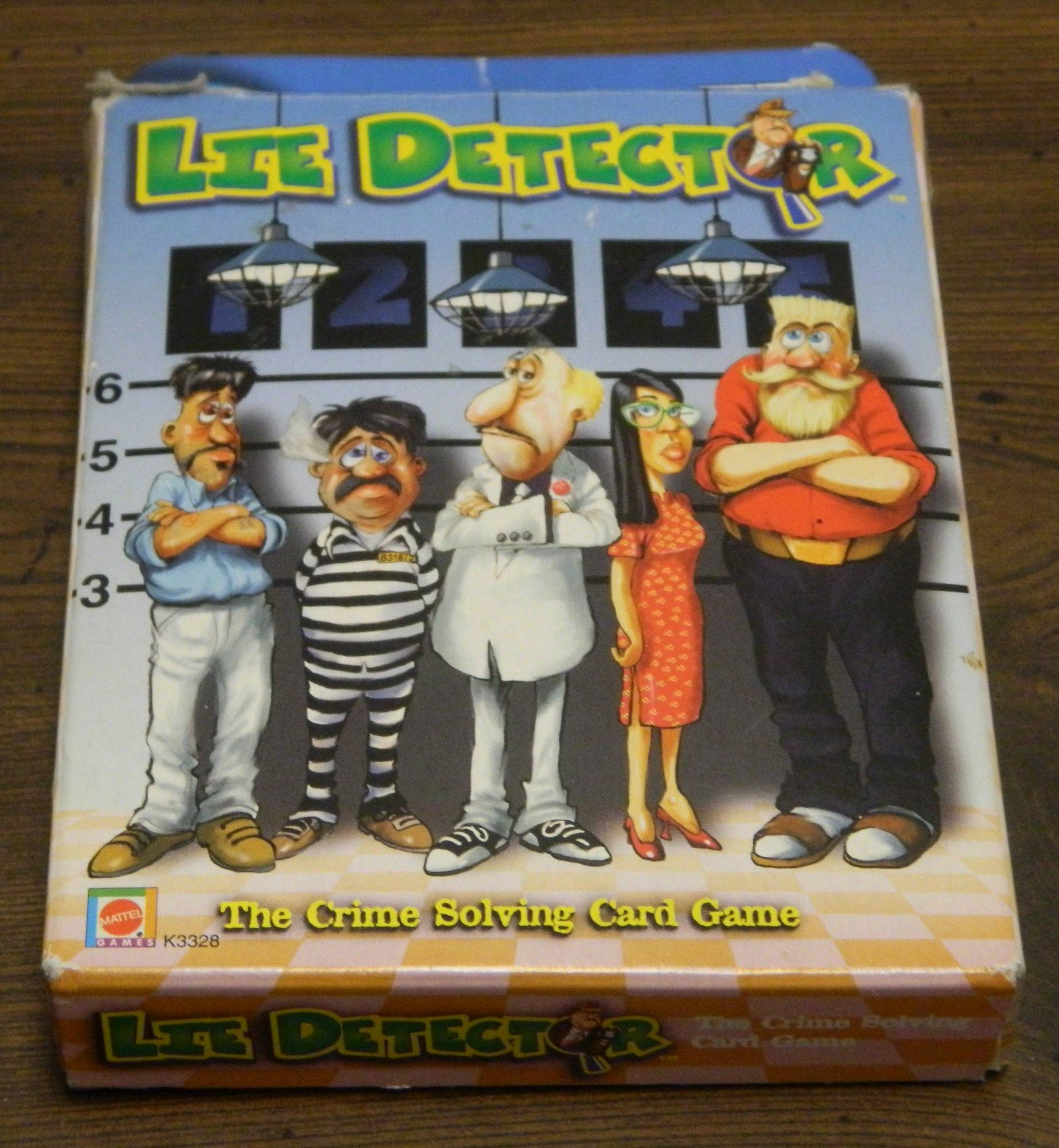 Box for Lie Detector The Card Game